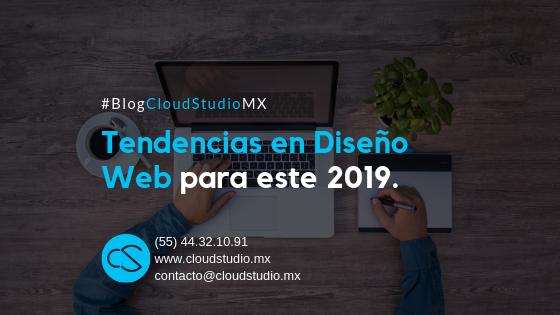 Tendencias en Diseño Web para el 2019